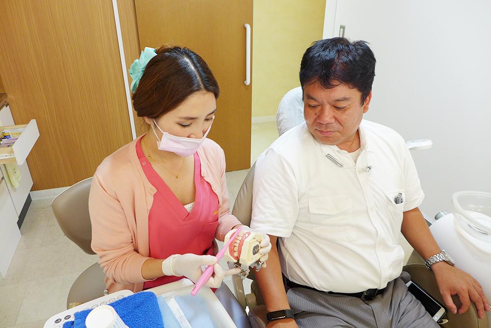 衛生士と患者